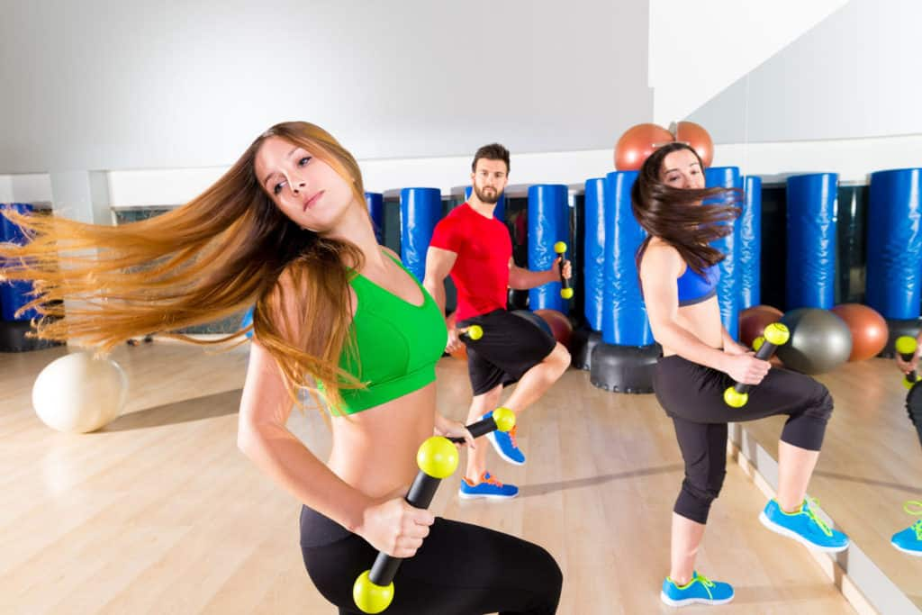 Zumba With Weights