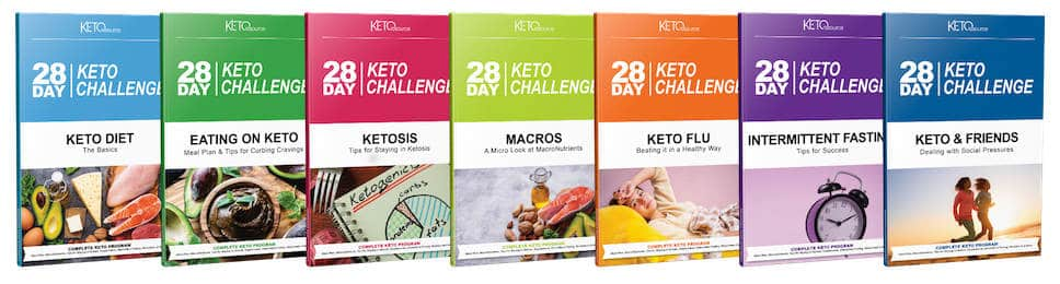 The 28 Day Keto Challenge Books