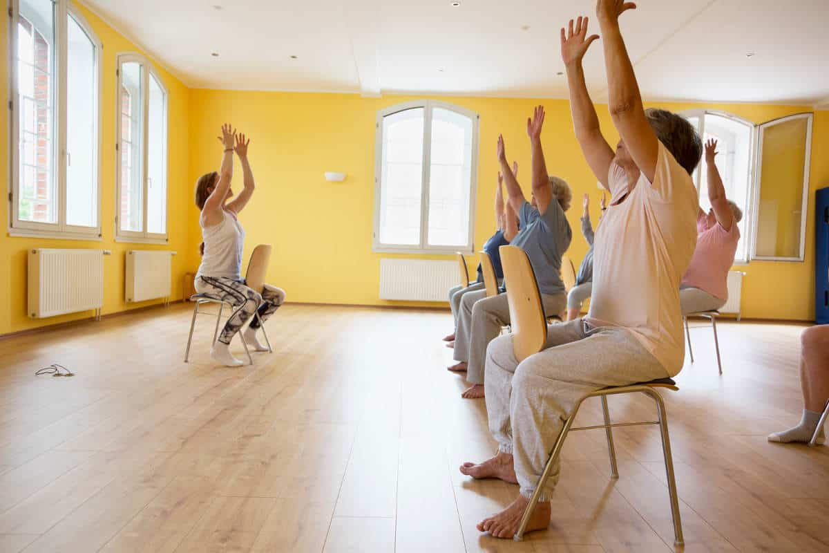 12 Reasons Why Chair Yoga is Great for Seniors