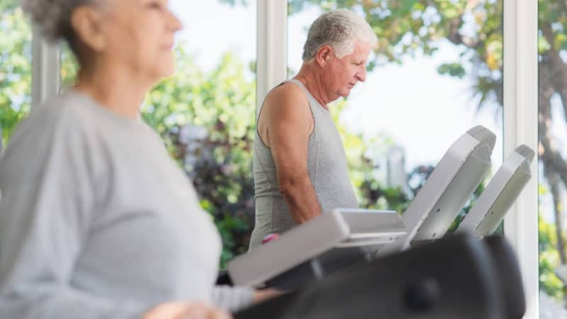 The 9 Best Cardio Exercises For Seniors To Perform At Home